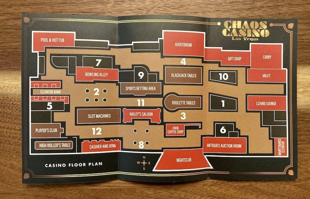 Open map for the Casino of Chaos.