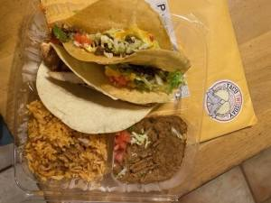 Actual tacos sitting on top of Taco Twosday.