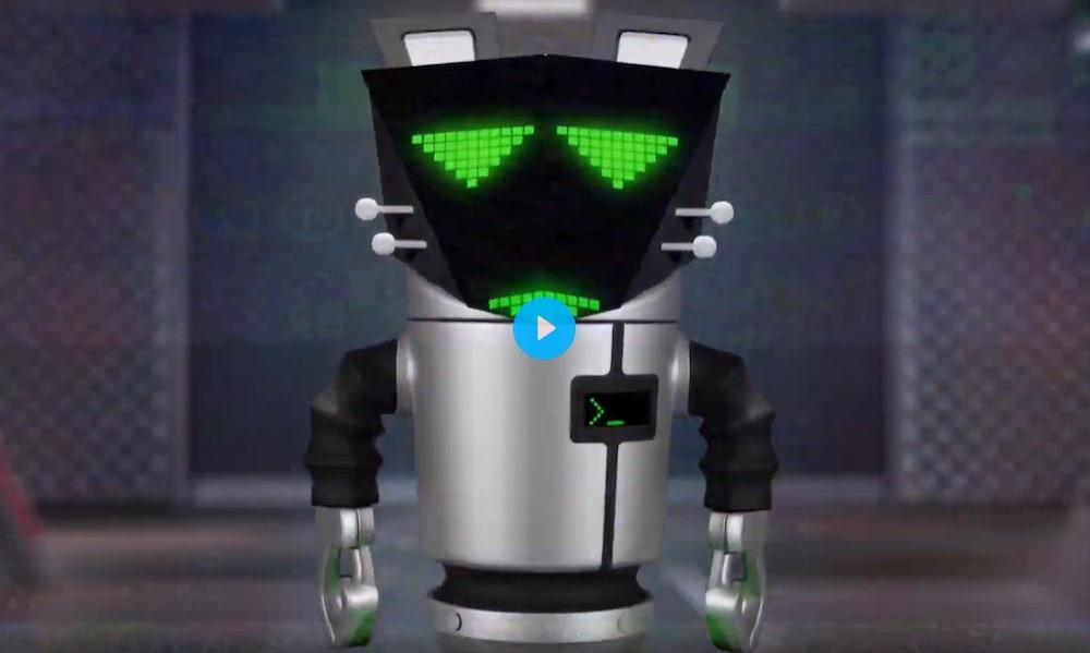 Video of a robot.