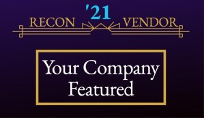 """RECON '21 Vendor - """"Your Company Featured"""" advert"""