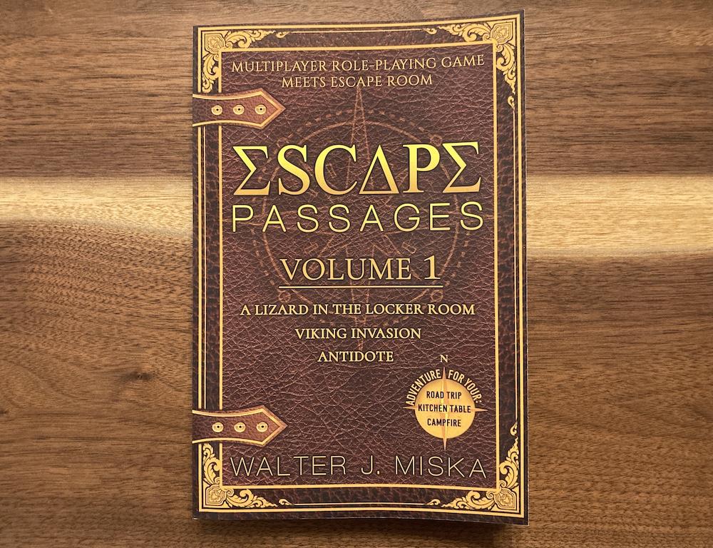 Escape Passages Vol 1 book cover.