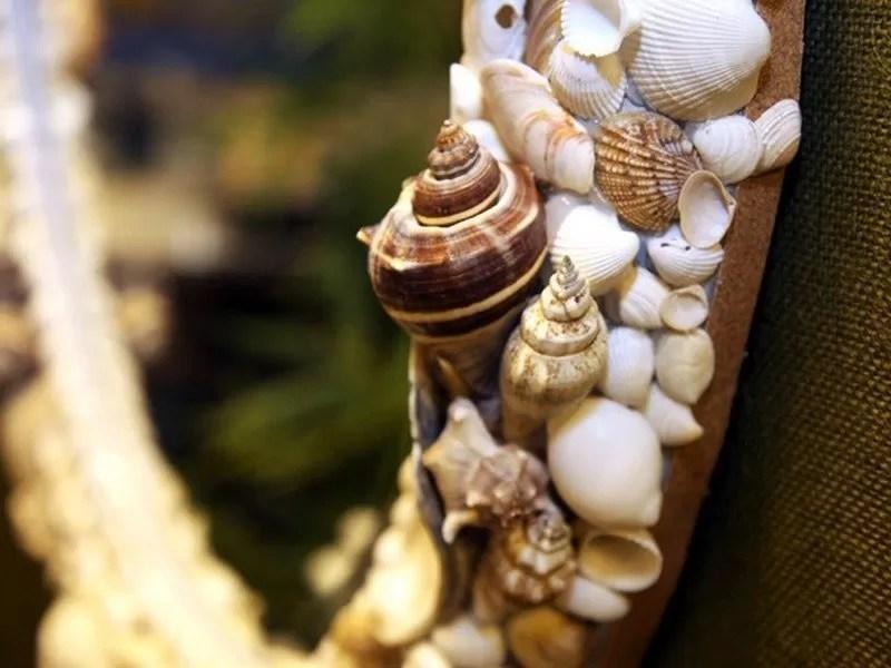 Decor Mirror Shells
