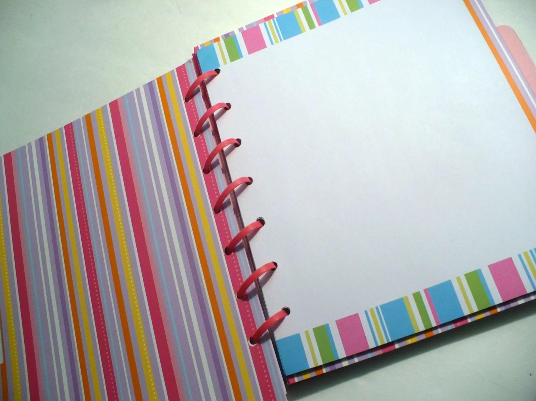 Stitching notebooks