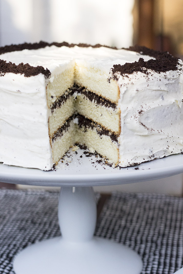 Peachy Cookies And Cream Birthday Cake Room For Tuesday Funny Birthday Cards Online Hendilapandamsfinfo