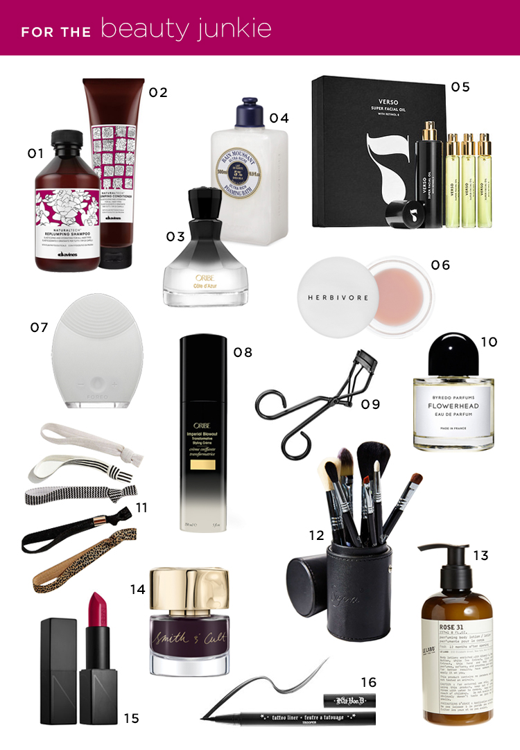 Room for Tuesday Gift Guide: for the Beauty Junkie