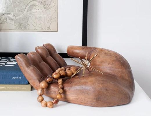 Vintage Wooden Hand