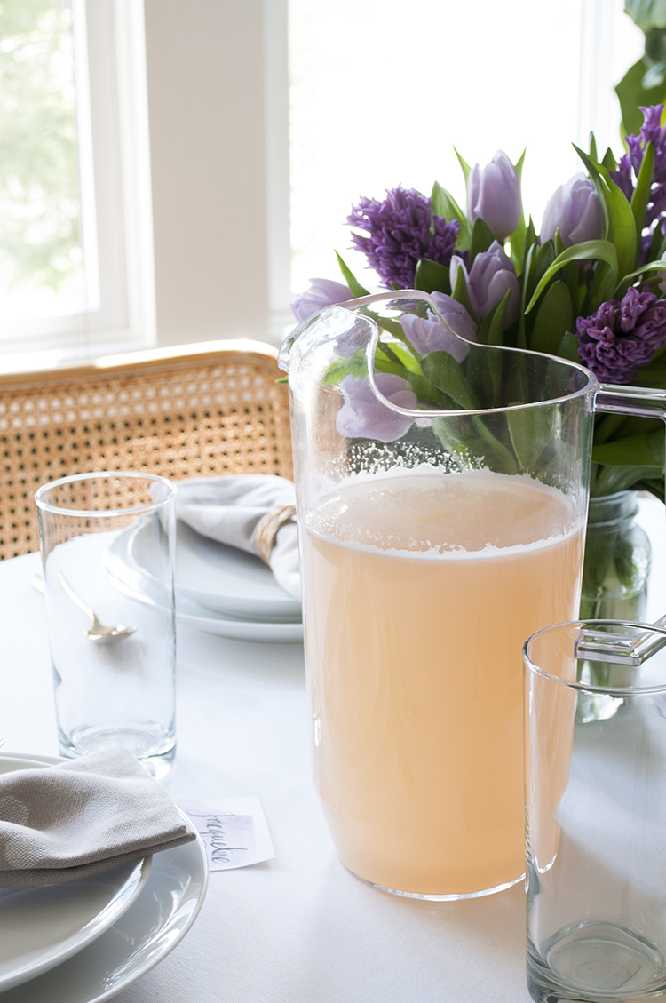 Grapefruit Mimosas for Easter Brunch
