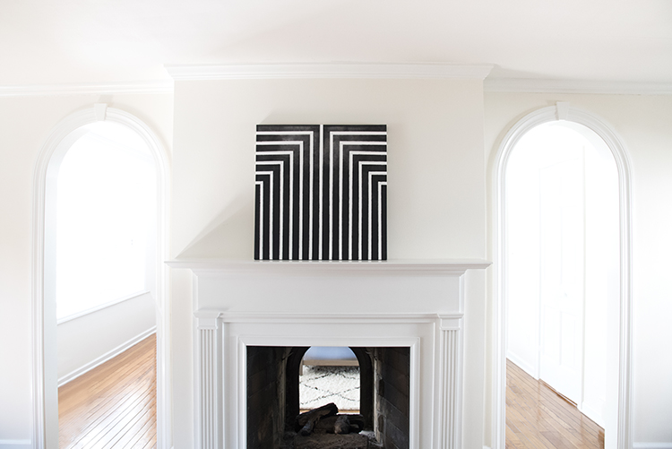 Black and White Art DIY