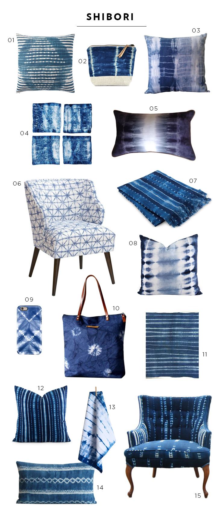 Favorite Shibori Finds