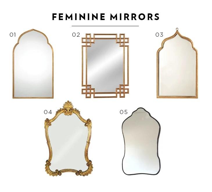 feminine mirrors