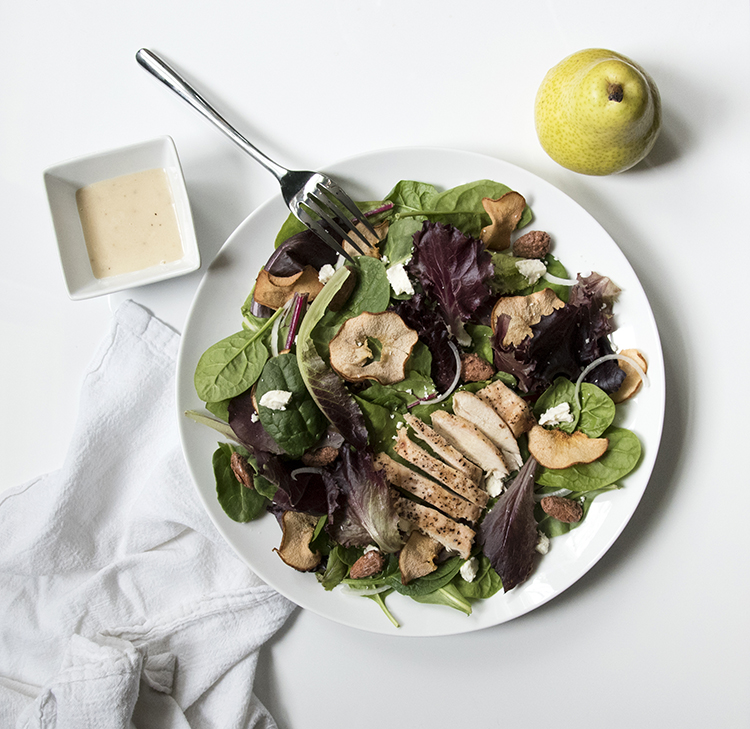 pear salad lunch