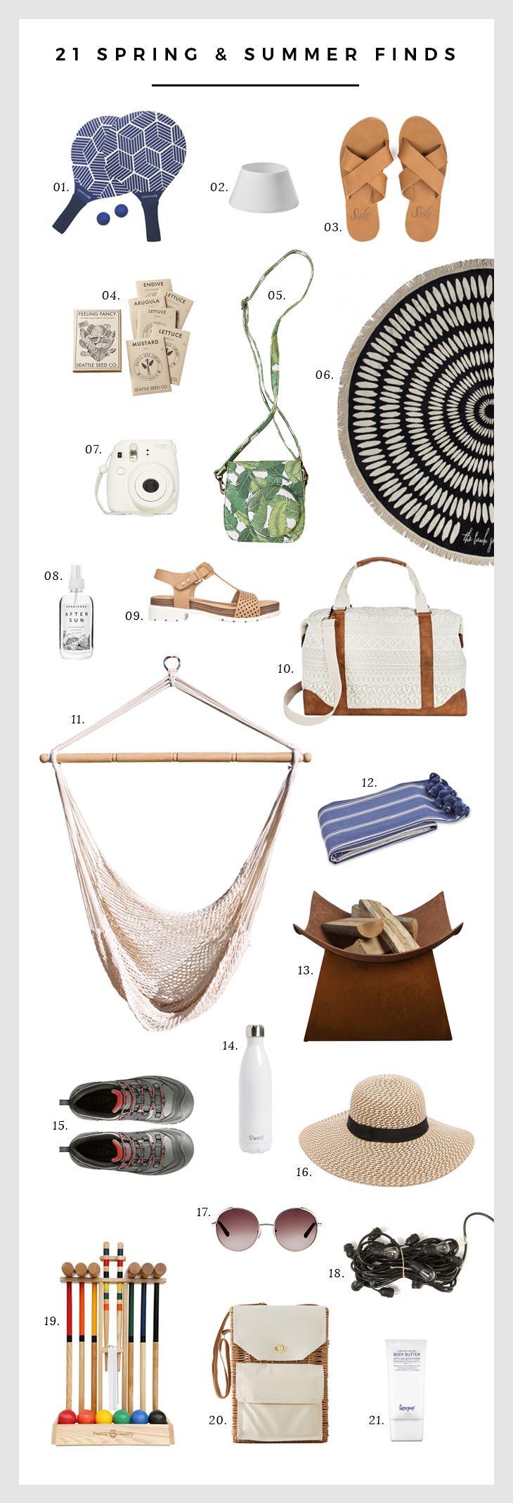 21 Spring and Summer Finds