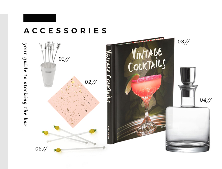 Bar Essentials - Accessories