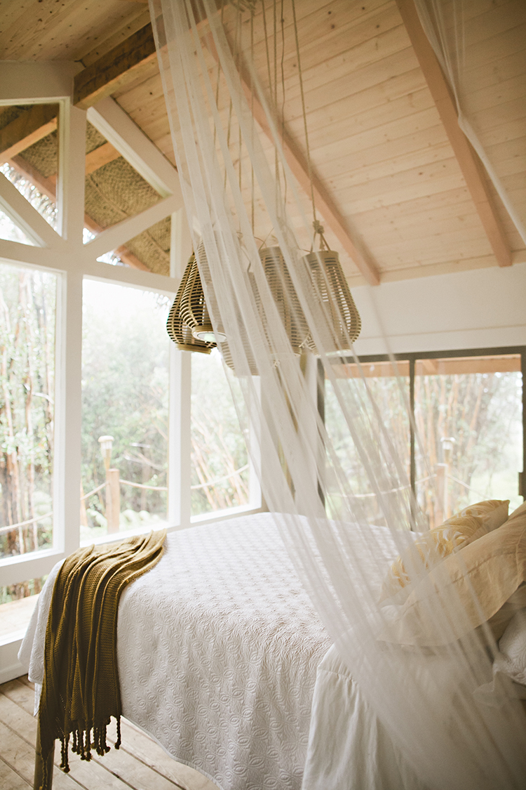 Hawaiian Treehouse Bedroom