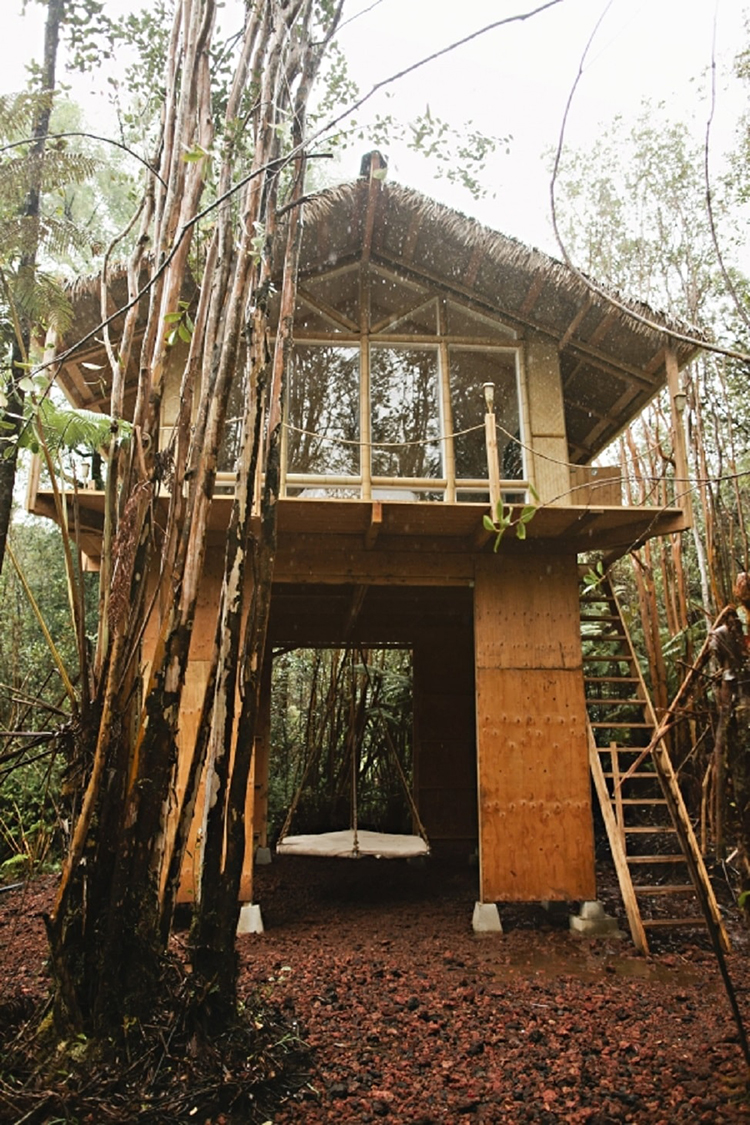Secluded Hawaiian Treehouse