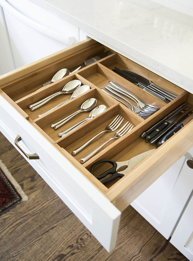 Bamboo Drawer Organizer