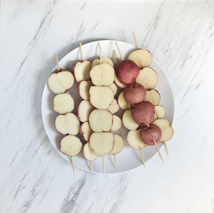 Potato Skewers