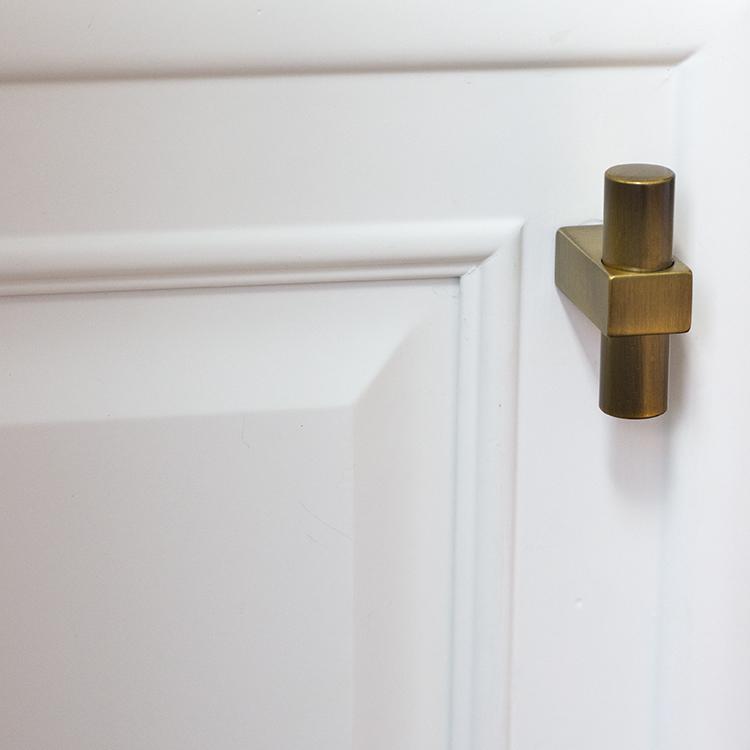 brass knob