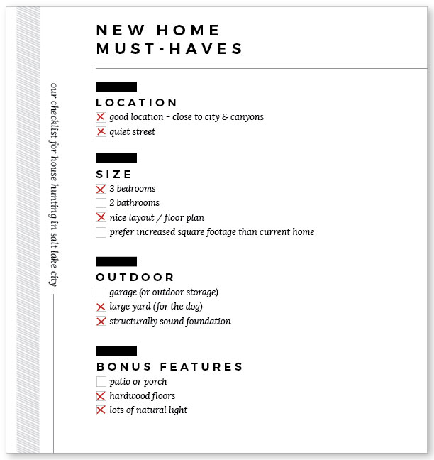 House-Hunt-Checklist