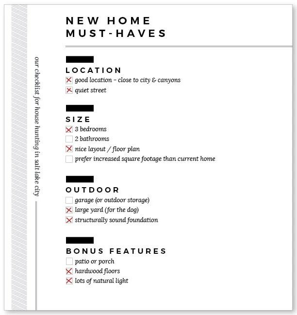 House-Hunt-Checklist