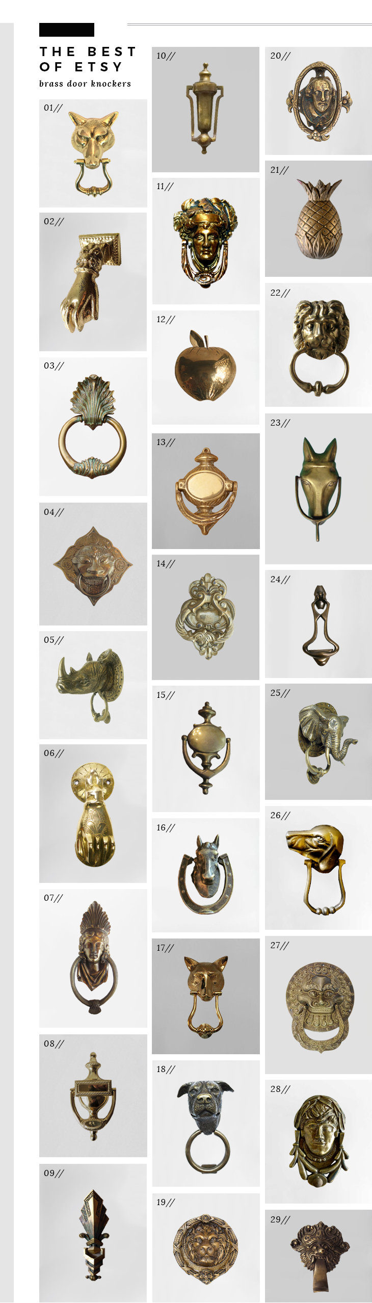 best-brass-door-knockers