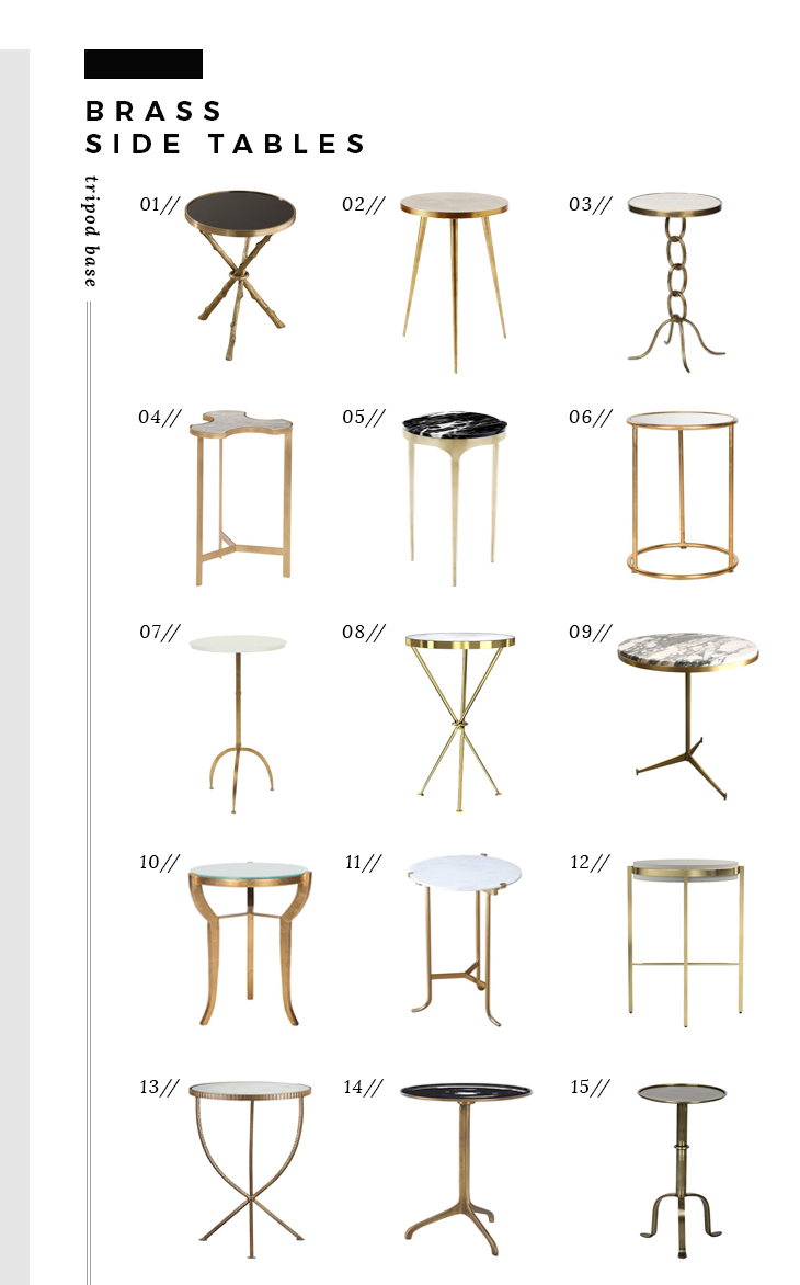 brass-side-tables-tripod-style