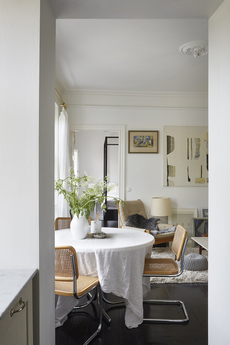 Modern French Dining Room