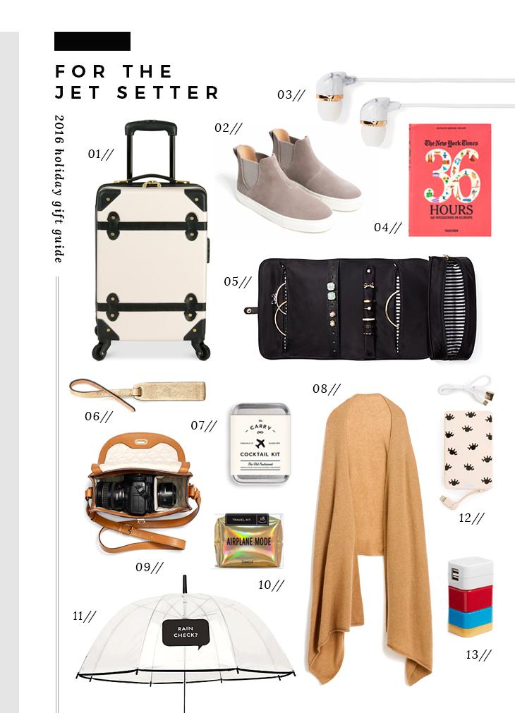 gift guide for the jet setter