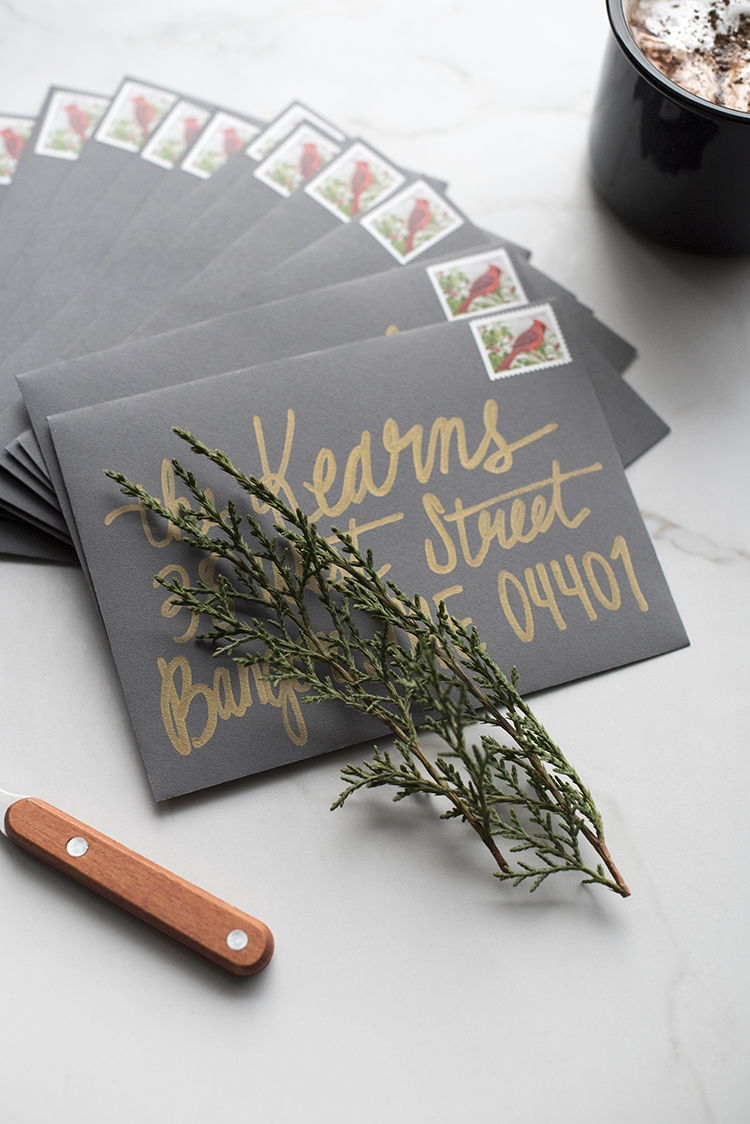holiday-card-calligraphy