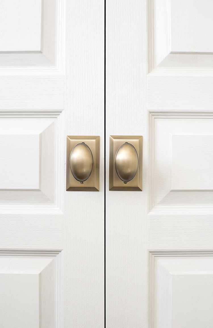 French Door Closet Hardware