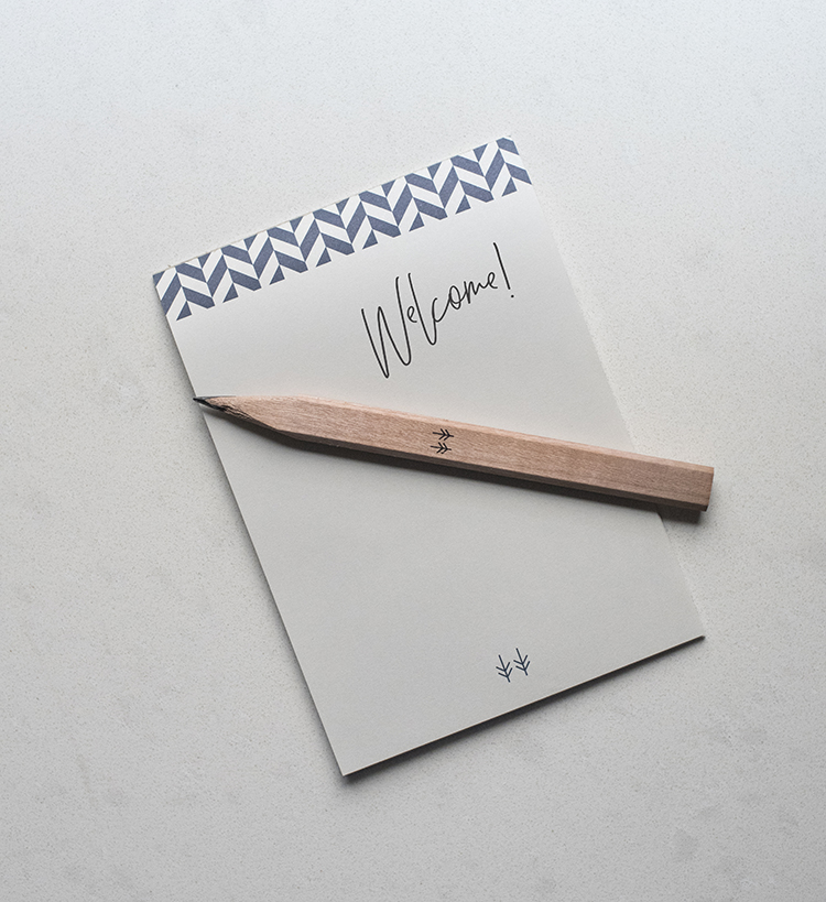 Hewing Hotel Stationery
