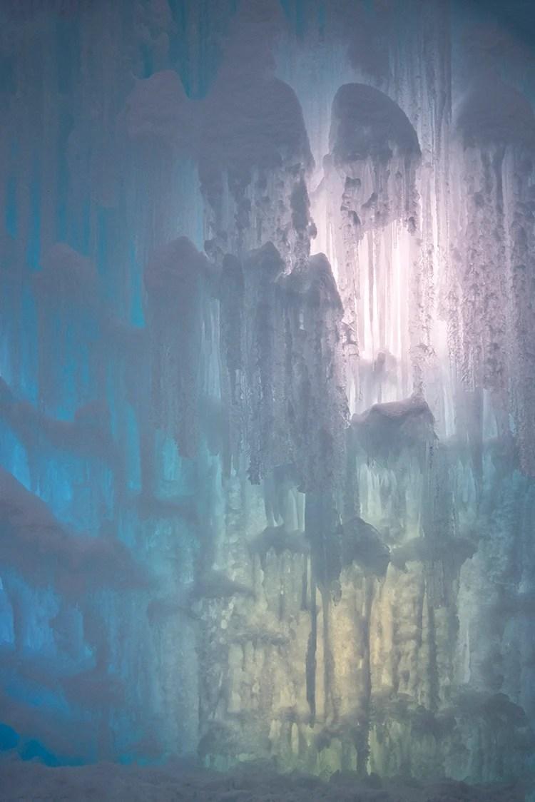multi-colored-ice-castle