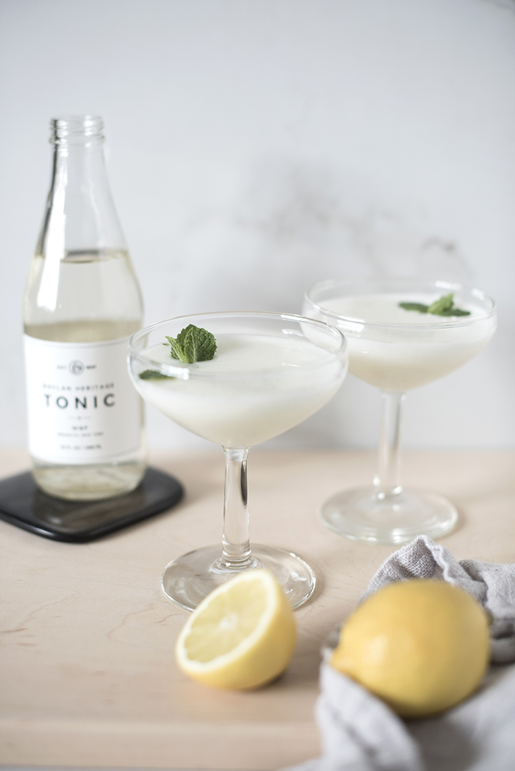 Lemon Mint Cocktail