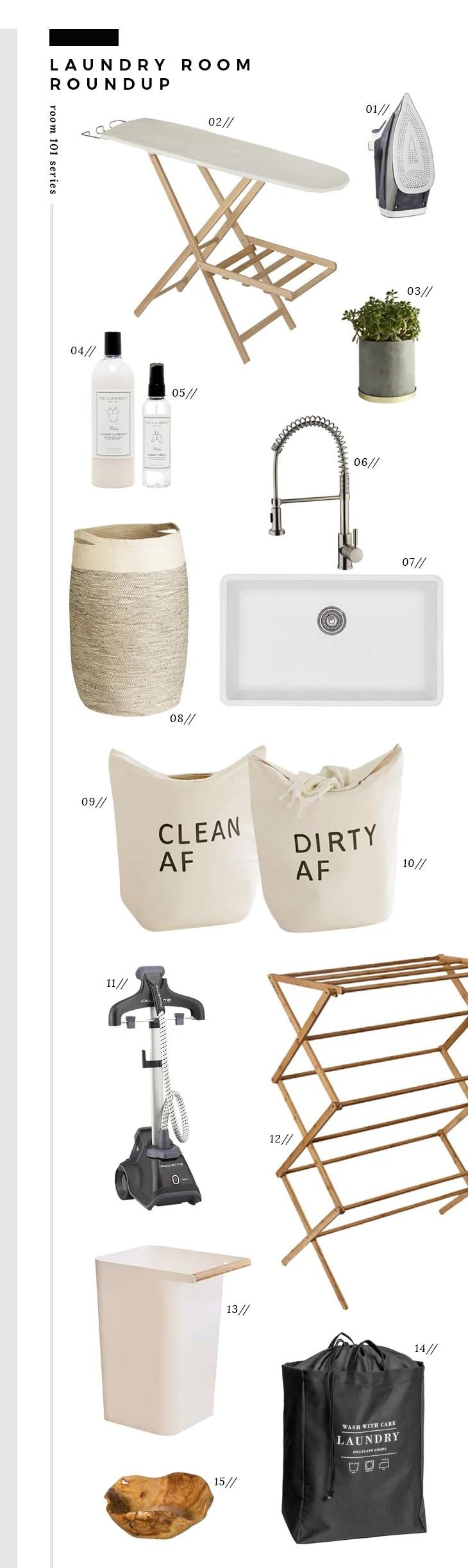 Room 101 - Laundry Room Roundup