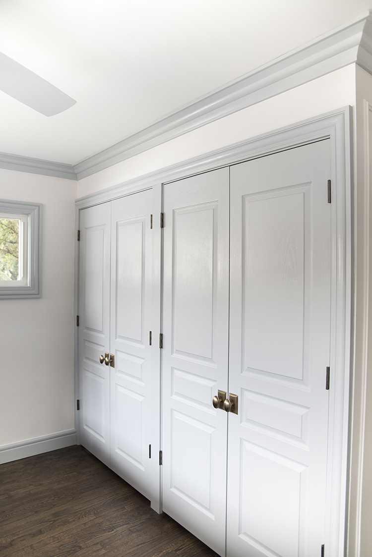 Closet Wall with French Doors