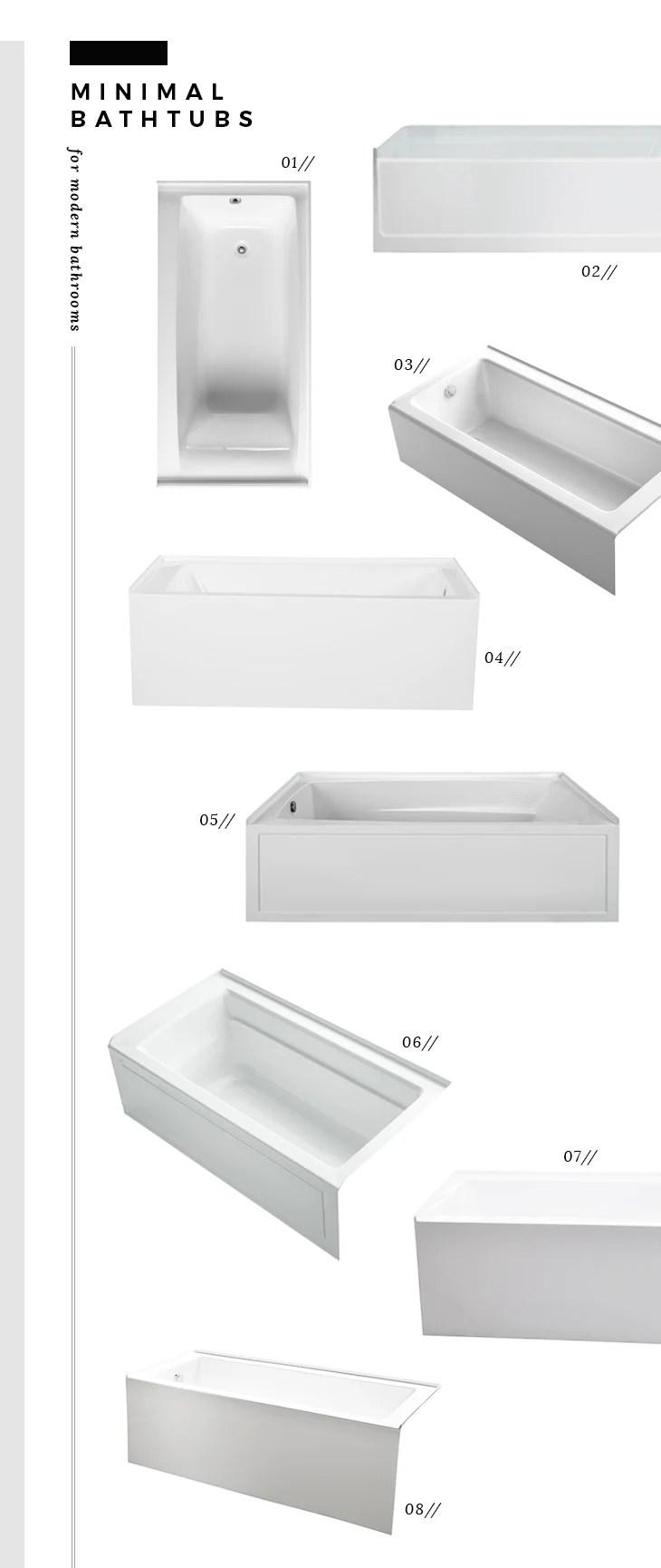 Minimal Bathtubs