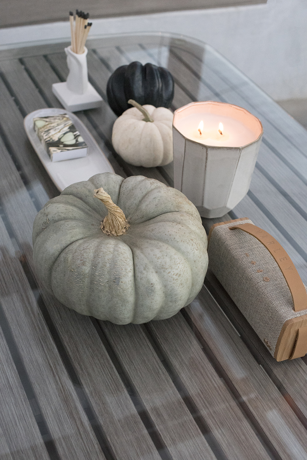 Coffee Table Pumpkin Styling