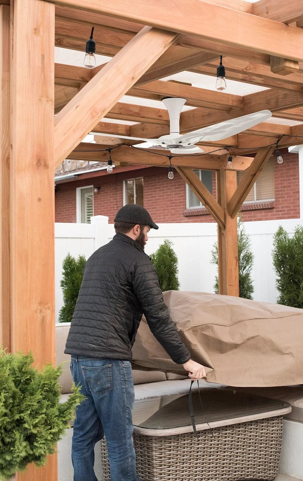 Winterizing the Backyard - roomfortuesday.com