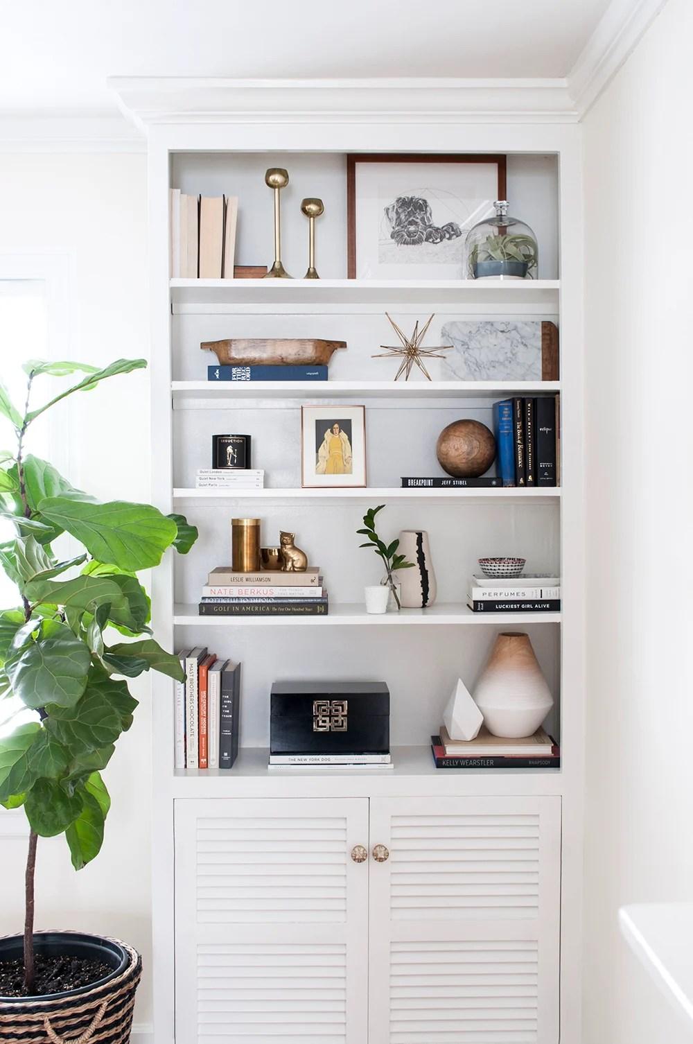 Shelf Styling with Amazon Decor