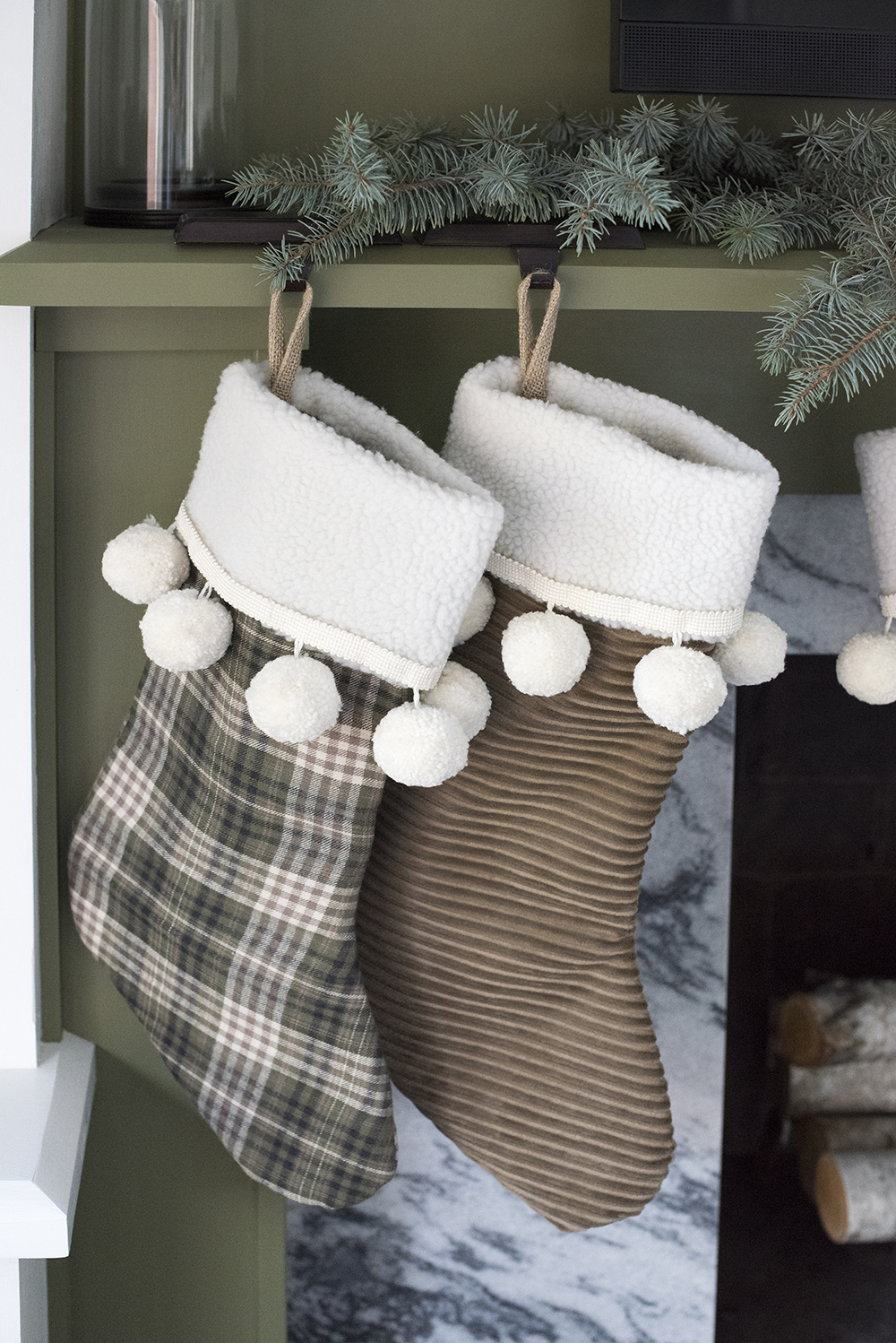 Slipcover Christmas Stocking Diy Room For Tuesday