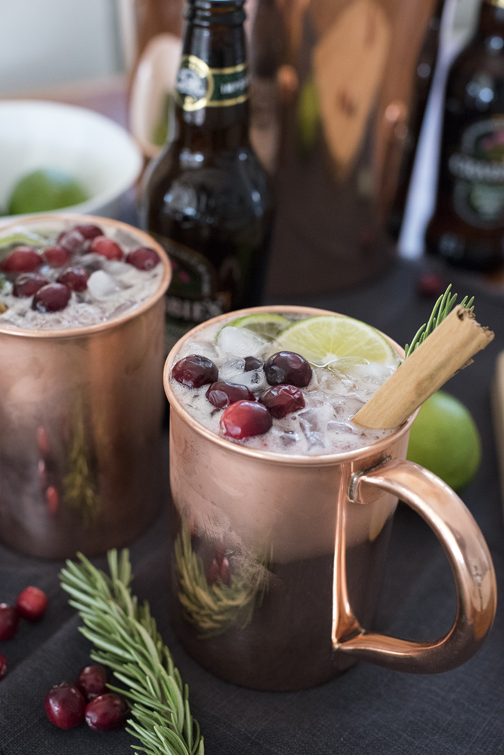 Image result for cranberry cinnamon moscow mule