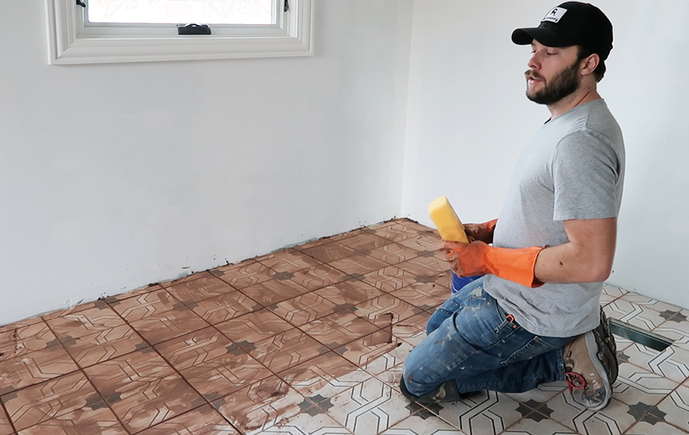 How To Install Floor Tile And Grout Room For Tuesday