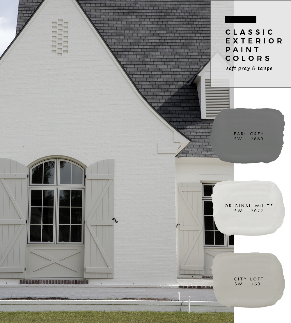 Ordinaire Classic Exterior Paint Color Combinations   Roomfortuesday.com