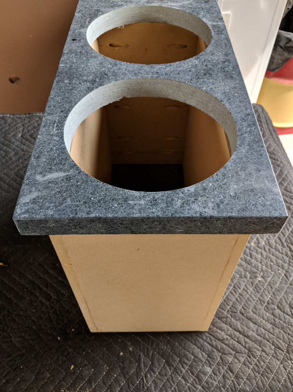 DIY Pedestal Dog Feeders - roomfortuesday.com