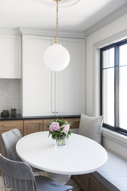 Breakfast Nook Dining Area Reveal, Dining Room Nook