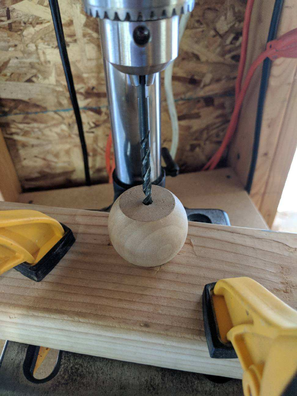 Wood Detail Sconce DIY - roomfortuesday.com