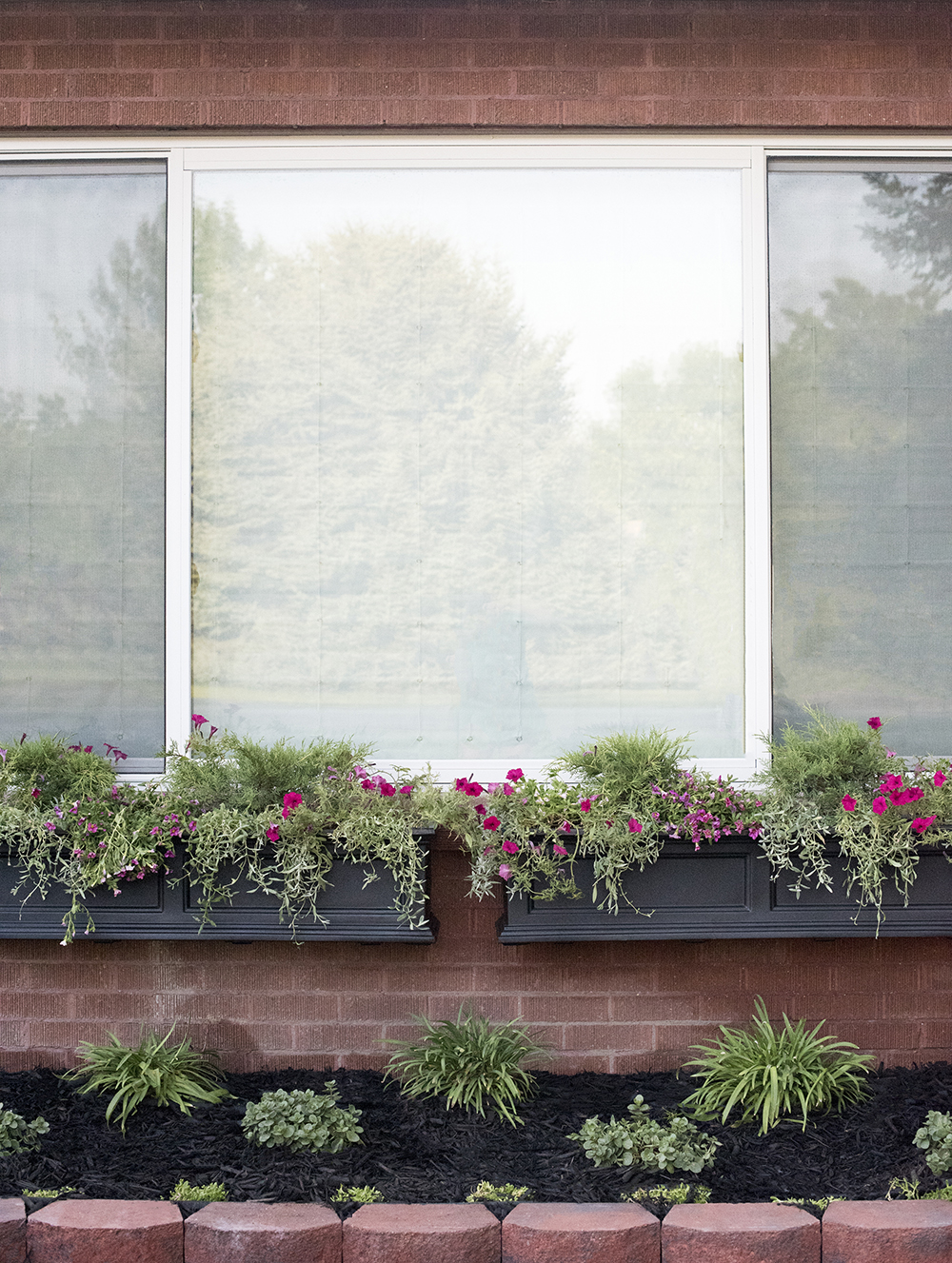 How to Install Window Flower Boxes - roomfortuesday.com