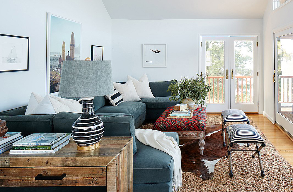 Pairing Sectional Sofas and Coffee Tables - roo & Pairing Sectional Sofas and Coffee Tables - Room for Tuesday