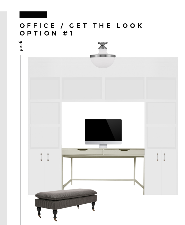 Office Reveal + 3 Ways to Get the Look - roomfortuesday.com