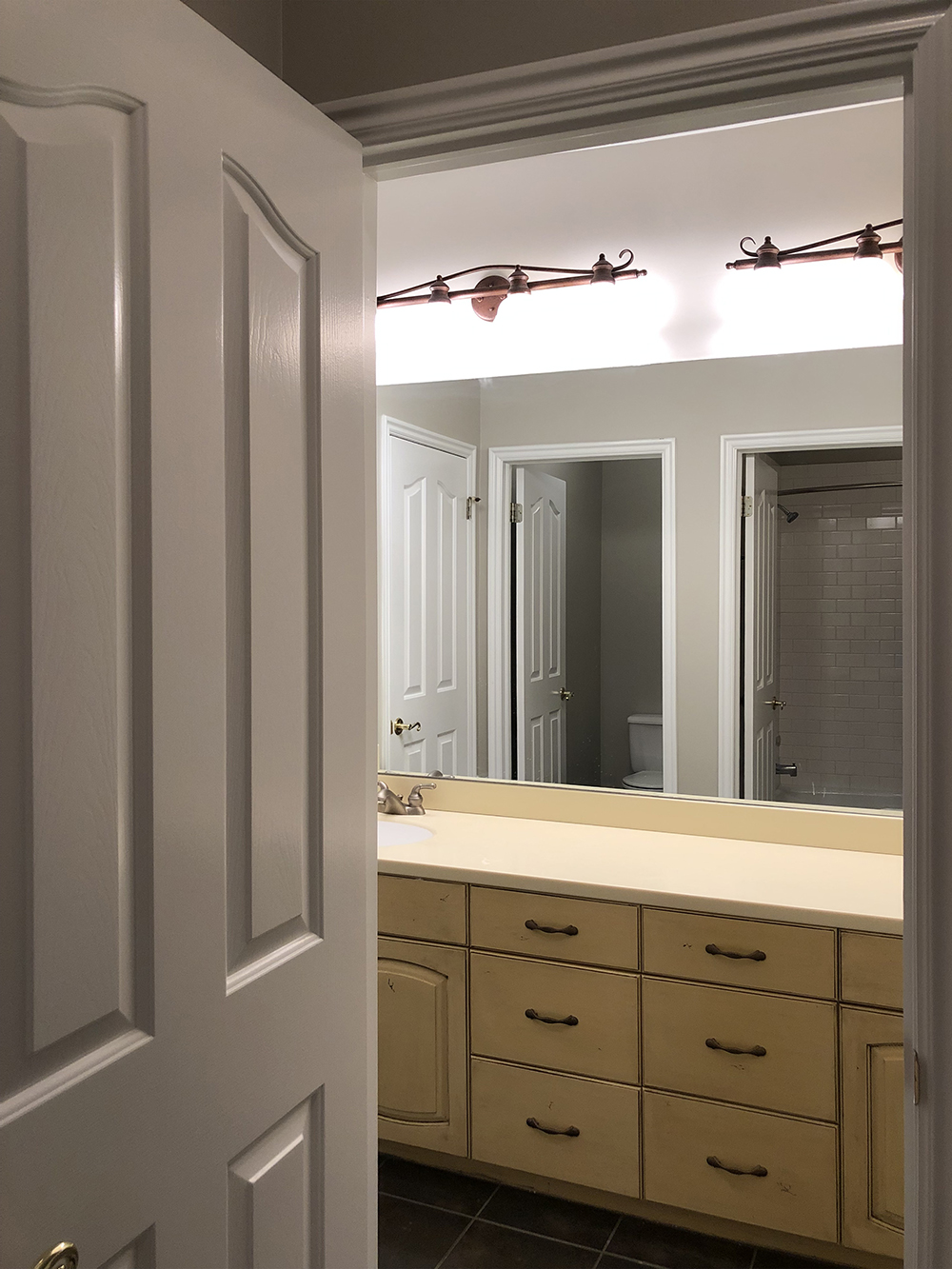 Our Guest Bath Design Plan & Before Images - roomfortuesday.com